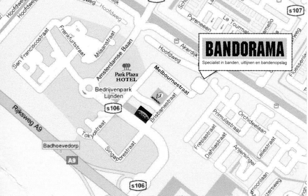 Bezoekadres Bandorama